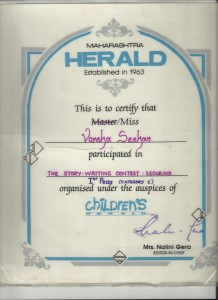 The Dame Who Hated Plants certificate
