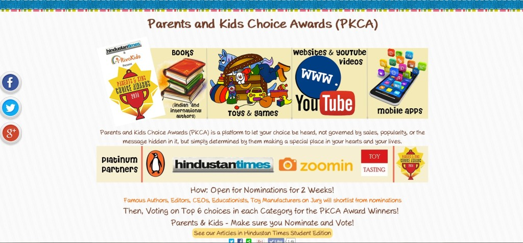 Parents and Kids Choice Awards