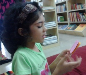 01. Jiya trying to find words to express herself