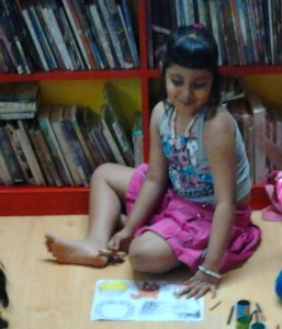01. Tarini at Friends Library
