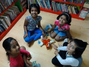 05. Deeva, Gia, Kristine and Aarya - Show and Tell