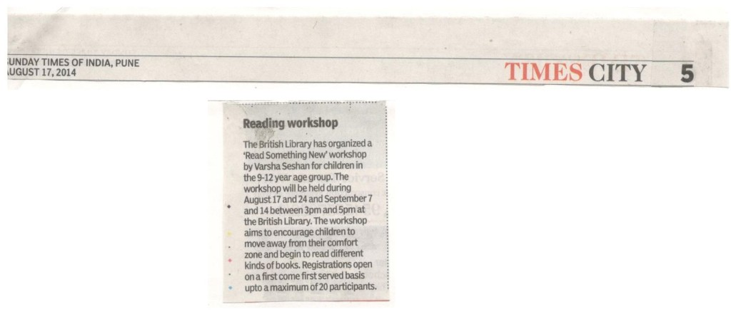 Times of India 17 Aug 2014