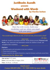 Workshop at JustBooks Aundh