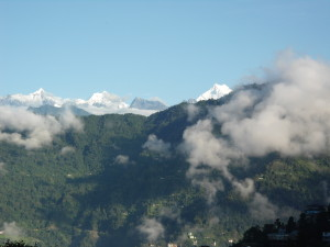 Mountains in Gangtok
