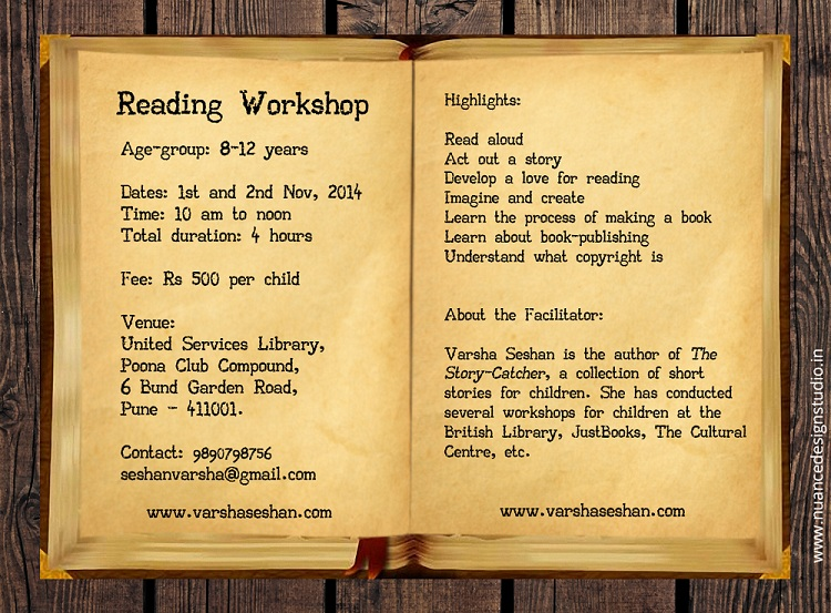 Poona Club Reading Workshop web