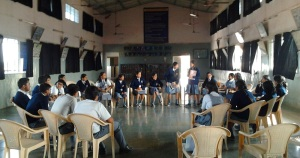 Literature games at the reading workshop in Baramati