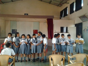 Poetry at the Reading Workshop in Baramati