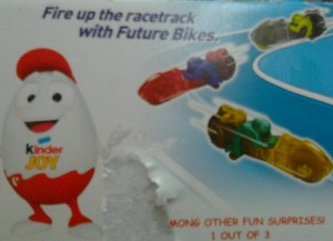 Cars in Kinder Egg