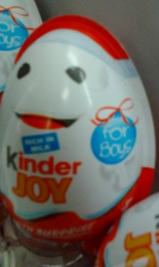 Kinder Egg for Boys