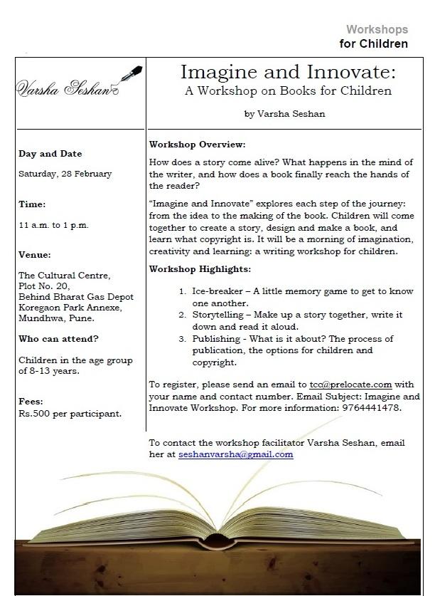 Page 1 - The Cultural Centre Workshop