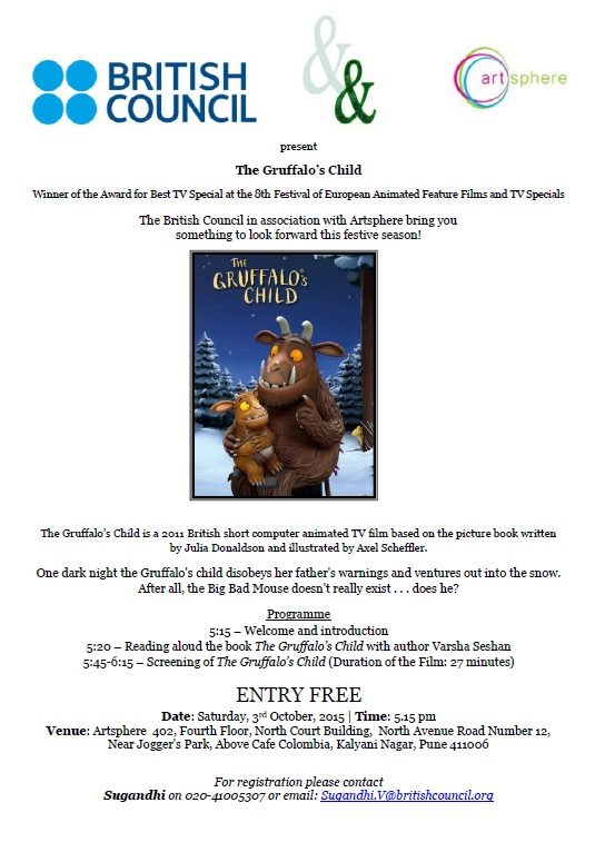 The Gruffalos Child poster