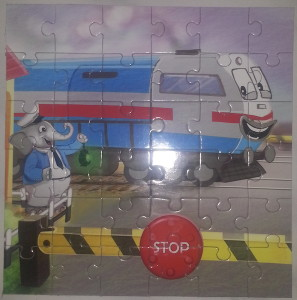 Bholu at the Level Crossing Jigsaw