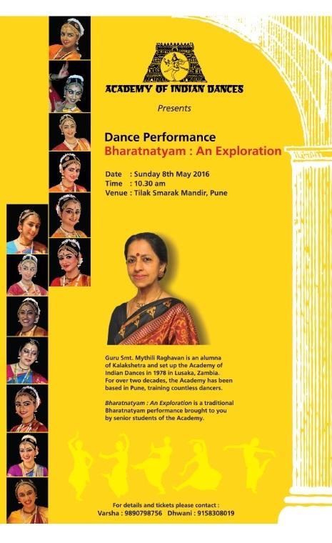 Bharatanatyam programme