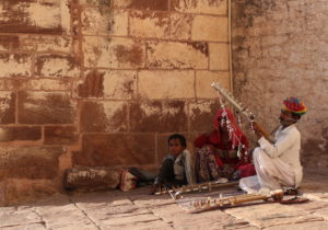 musicians-at-mehrangarh