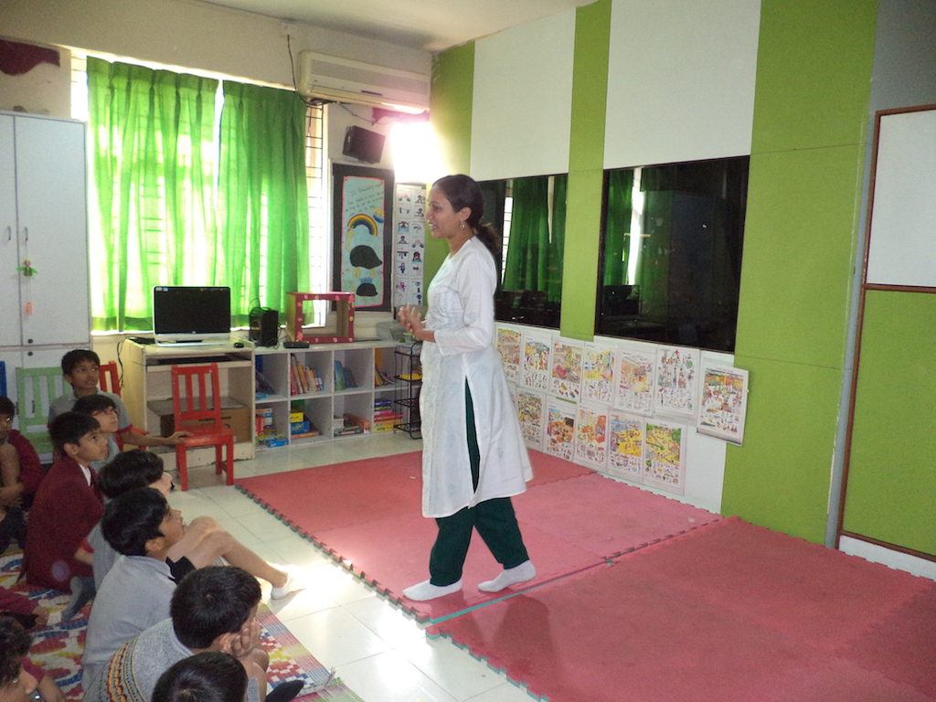 Workshops at Symbiosis International School
