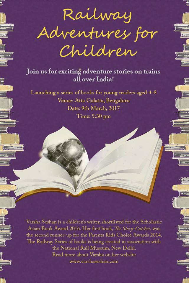 Reading Workshop and Book Launch in Bengaluru