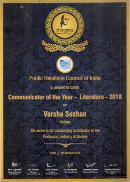 Chanakya Award - Communicator of the Year - Literature