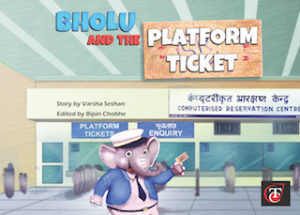 Buy Bholu and the Platform Ticket