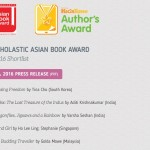 Shortlisted for the Scholastic Asian Book Award!