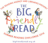 A fun session with The Big Friendly Read Reading Challenge