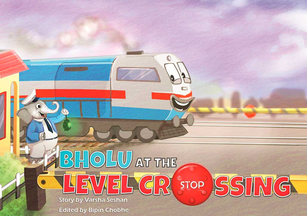 Bholu at the Level Crossing by Varsha Seshan