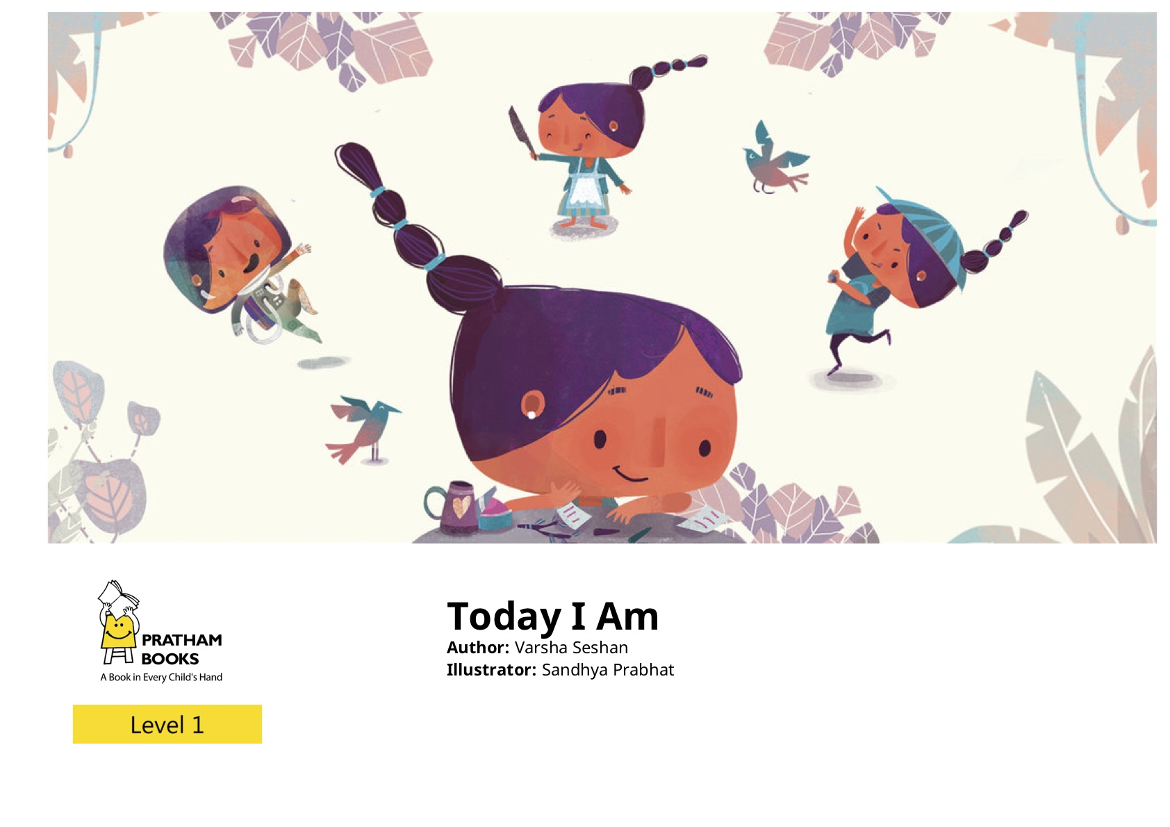 Today I Am - picture book