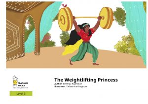 Read The Weightlifting Princess on StoryWeaver