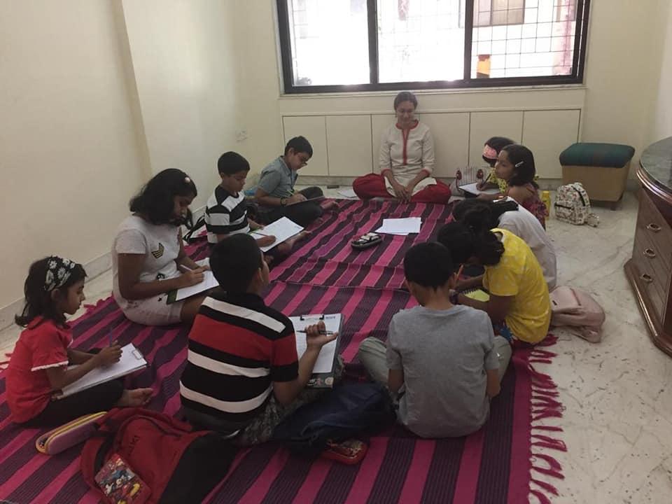 Writing at Meridian Kids Club