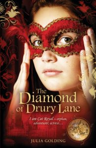 The Diamond of Drury lane book cover - buy the book on Amazon