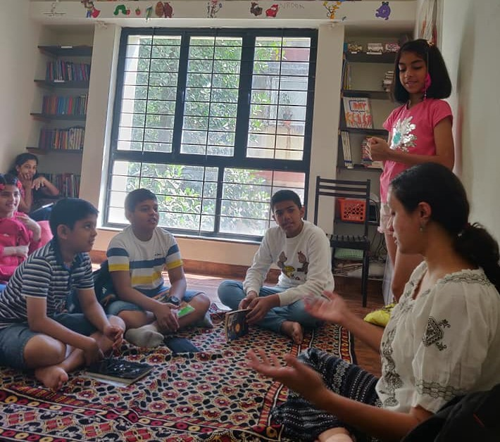 Creative writing workshop at The Story Station