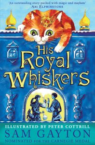 His Royal Whiskers book cover - buy the book on Amazon