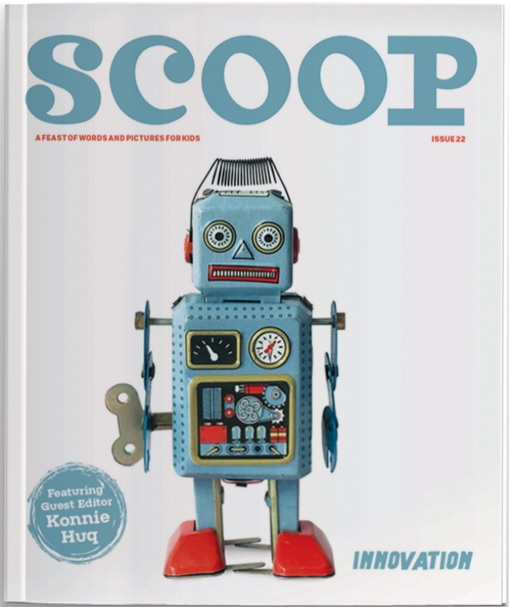 Scoop magazine issue 22 Theme - Innovation