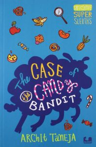 The Case of the Candy Bandit book cover - buy the book on Amazon